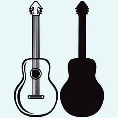 Guitar. Vector