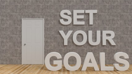 Set your Goals to success in life