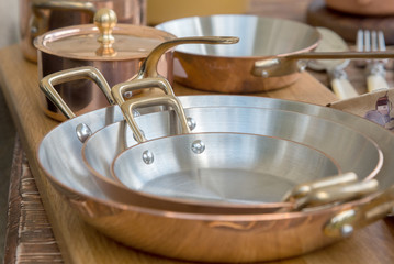 new copper cookware - pots and pans
