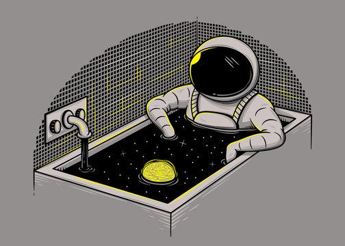 Space bath