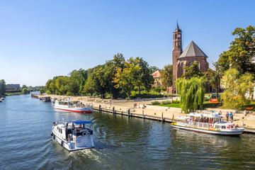 Brandenburg an der Havel, Kloster St. Johannis  Fototapete