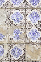 Typical decorative tiles