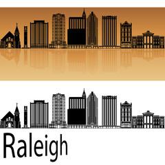Raleigh V2 skyline in orange