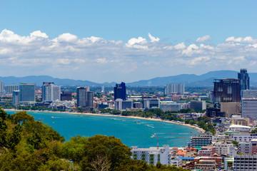 Pattaya city view