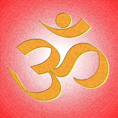 om or aum hinduism symbol