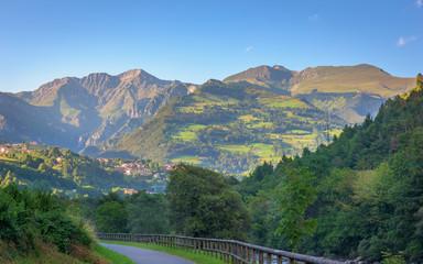 Seriana valley view