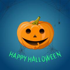 Happy Halloween. Pumpkin. pumpkin poster, halloween card