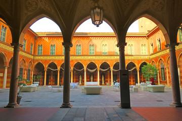Trecchi Palace,Cremona, Italy
