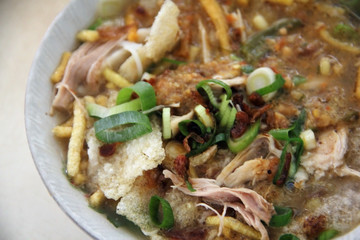 Soto Sukaraja, Indonesian cuisine
