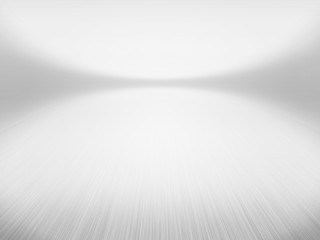 Infinite White Floor Background