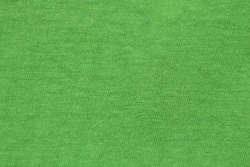 Зеленая ткань фон текстура.