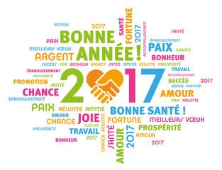 2017 Carte de voeux - Bonne année !