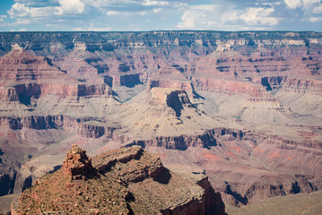 Colorado Grand Canyon. Landscape of grand canyon.