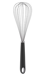 Wire whisk isolated on white background