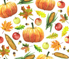 pattern with harvest