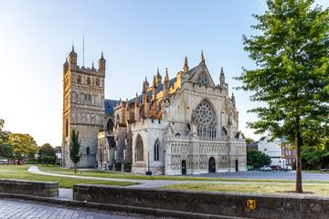 Old center of Exeter (Devon)