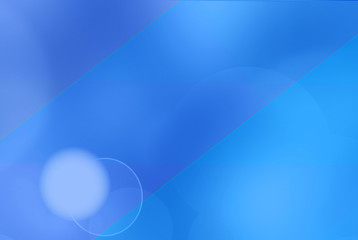 Digitally generated image of blue light  background
