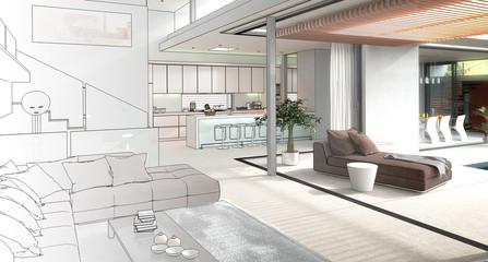 Modern House Interior (concept)