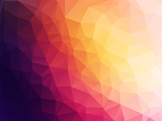 dark abstract low poly background