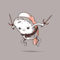 Samurai sushi series: Shrimp