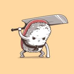 Samurai sushi series: Tuna
