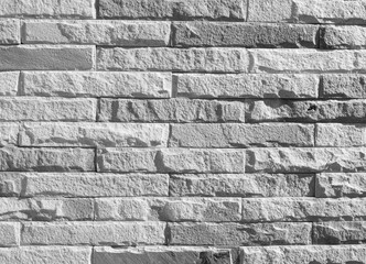 Black and white brick wall texture background / Brick wall textu