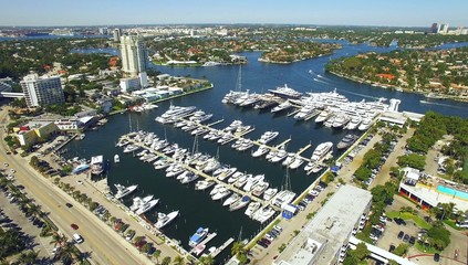 marina. yachts in Fort Lauderdale
