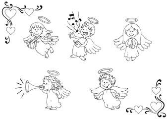 Christkind, Engel, Himmel, Kinder