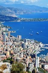 Foto op Canvas Brazilië Baies de Roquebrune et Principauté de Monaco septembre 2016