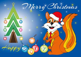 auguri Natale e buon anno 2017