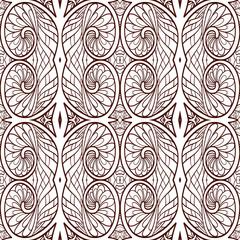 Ornamental Tribal Seamless pattern.