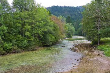 Beautiful scene in slovenia