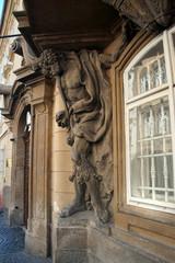 Moor holding up a balcony