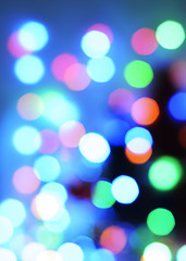 Abstract Multicolor bokeh lights backgrounds textures