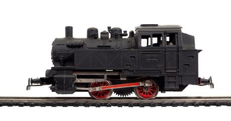 alte modelleisenbahn dampflok, lokomotive
