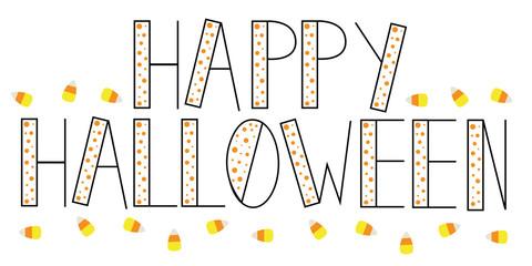 Happy Halloween Candy