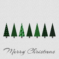 Weihnachtsbäume - Merry Christmas