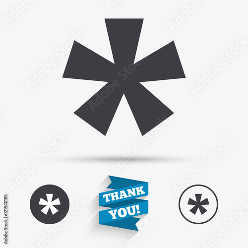 """asterisk Footnote Sign Icon Star Symbol"" Stock Image. Left Arm Pain Signs. Bronchial Pneumonia Signs. Visor Signs Of Stroke. Cutlery Signs. Retinal Detachment Signs. Atrep Signs. Amylin Signs. Humor Signs Of Stroke"
