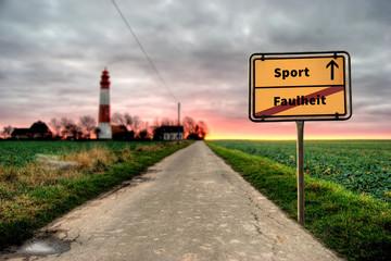 Schild 124 - Sport