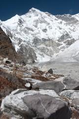 Fototapete - View of Mt Cho Oyu, Gokyo, Solu Khumbu, Nepal
