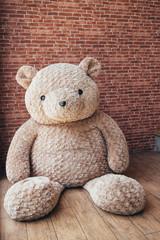 Big Teddy bear a stuffed toy bear