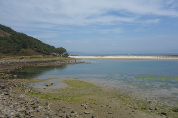 Cies islands,Vigo,Spain