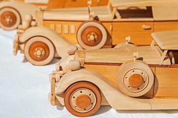 Wooden car model