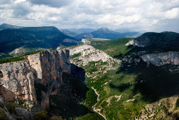 The Gorges du Verdon, France