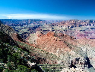 Panoramic view on the Grand canyon, USA