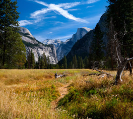 Yosemite Valley in Yosemite National Park, USA