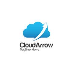 Cloud Creative Concept Logo Design