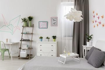 New flat with creative decor idea