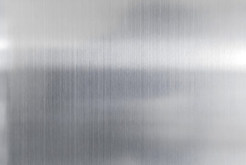 texture metal background of brushed steel plate Wall mural