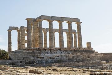 Poseidontempel am Kap Sounion, südöstlich von Athen